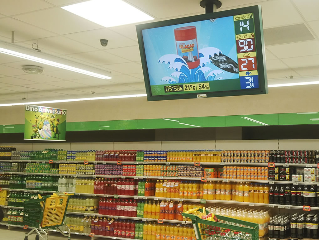 Grocery Store Display Signage