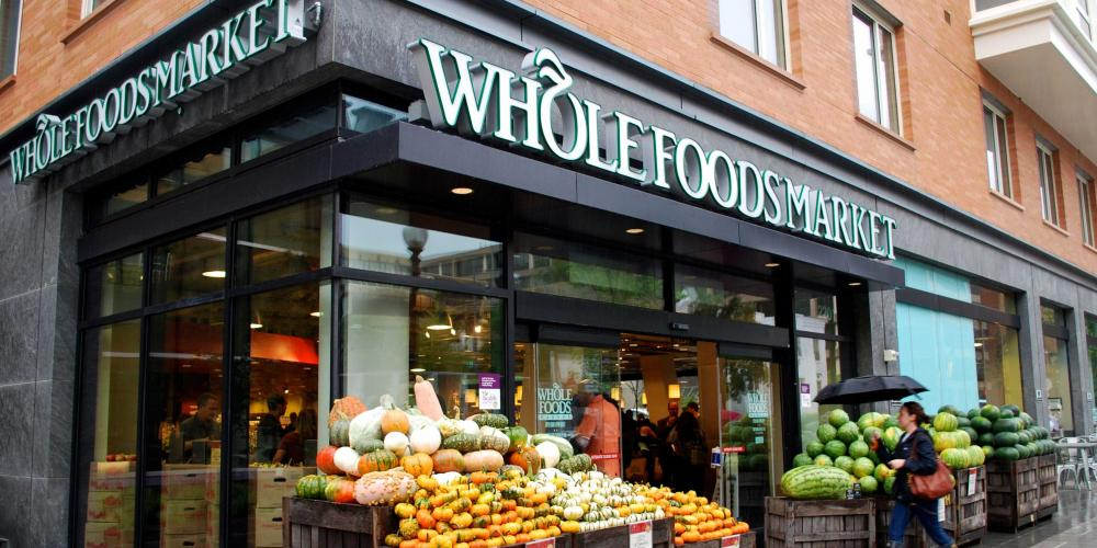 Amazon Shops Popping Up in Whole Foods Market Stores