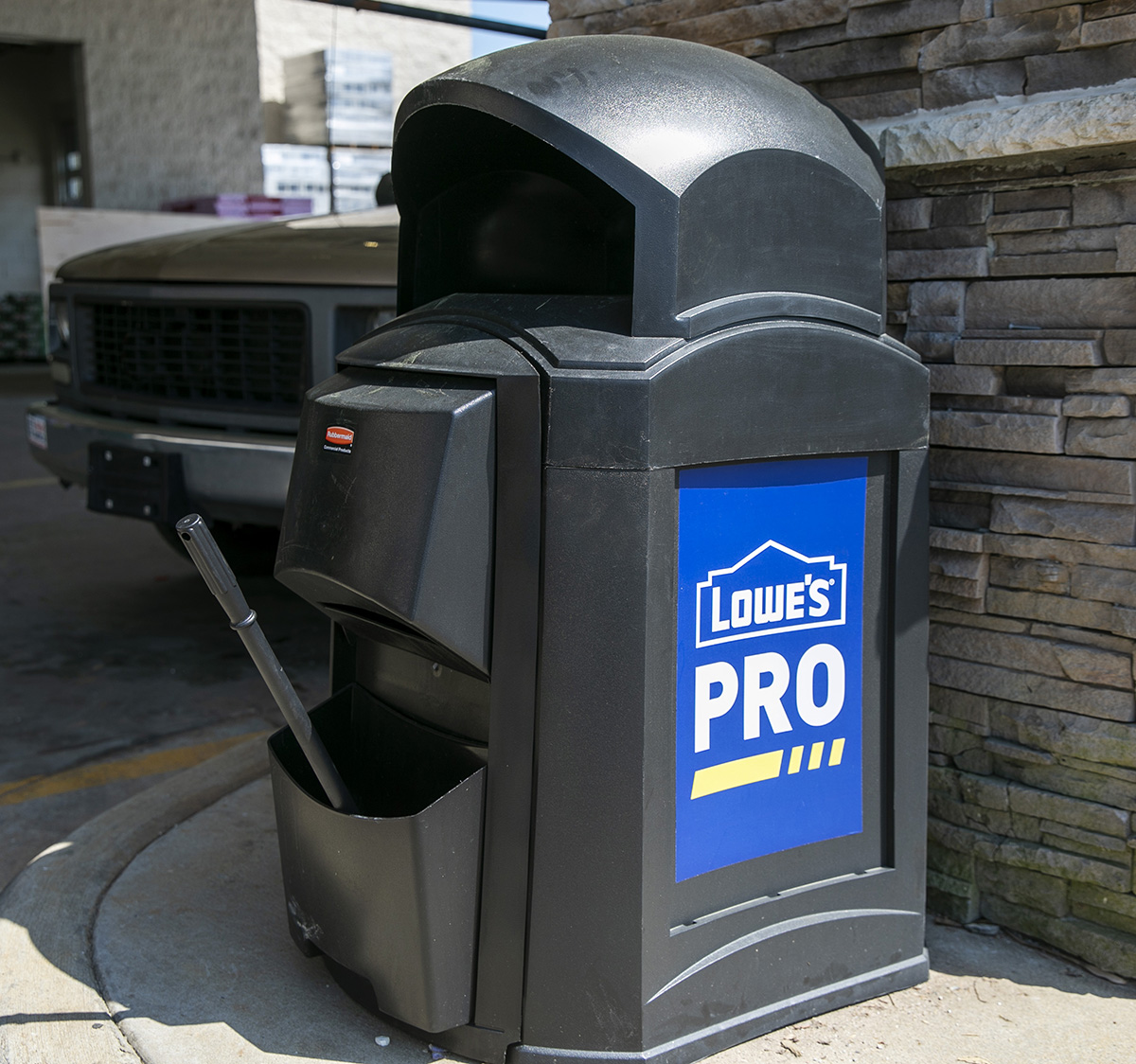 Windshield cleaning stations will become available this year.