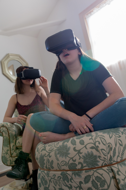 Gen z using Virtual Reality