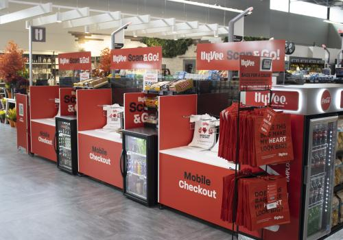 a display in a store