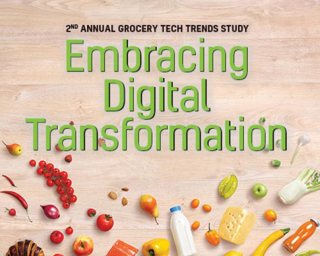 Technology Management Image: 2017 Grocery Tech Trends Study: Embracing Digital