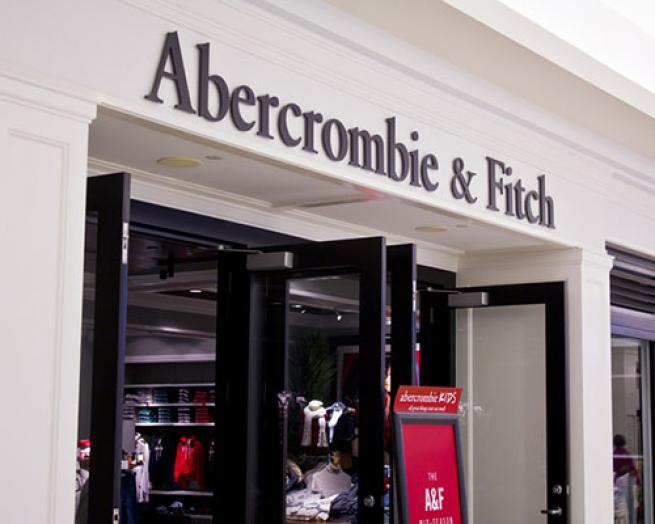 a store front at day