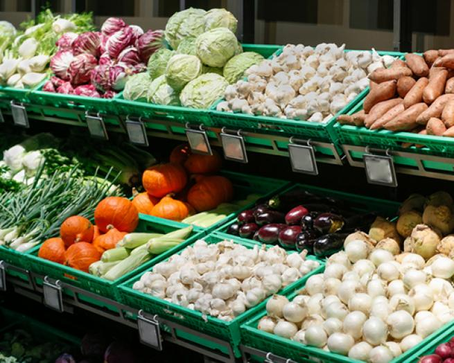 a store filled with lots of fresh produce