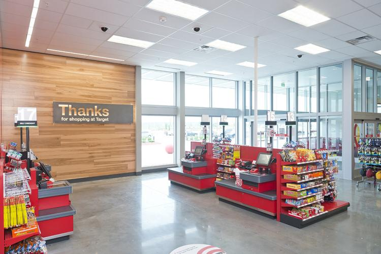 As Target Seeks To Cater To Convenience, U201ceaseu201d Entrances Boast Drive Up  Parking Spaces, Online Order Pickup Counters, Self Checkout Lanes And  Grab And Go ...