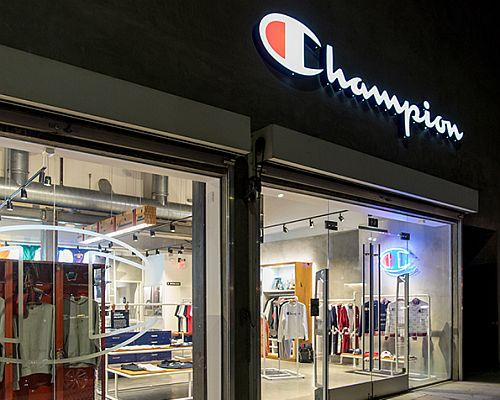 Champion Breaks Into Brick-And-Mortar With Los Angeles Opening