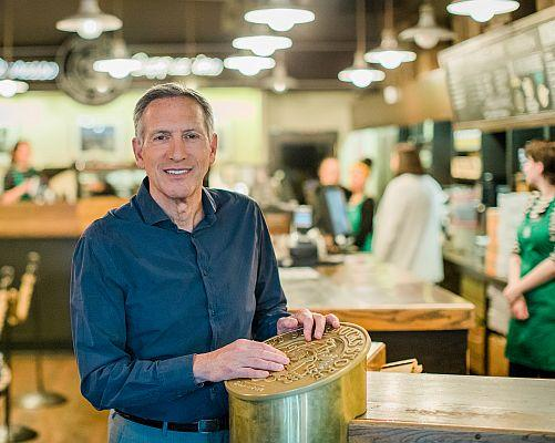 Speculation Percolates Around Starbuck's Howard Schultz's Possible Presidential Plans