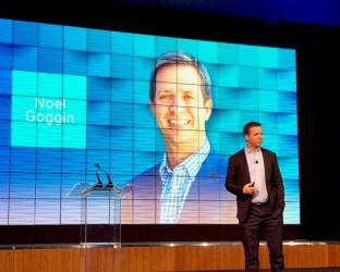 Noel Goggin, CEO of Aptos