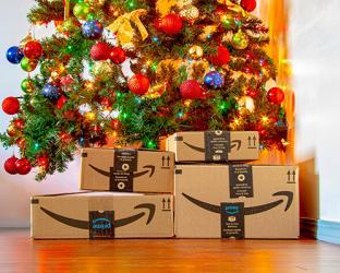 amazon boxes christmas tree